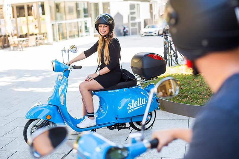 Stadtwerke stuttgart starten mit stella sharing das erste for Roller in stuttgart