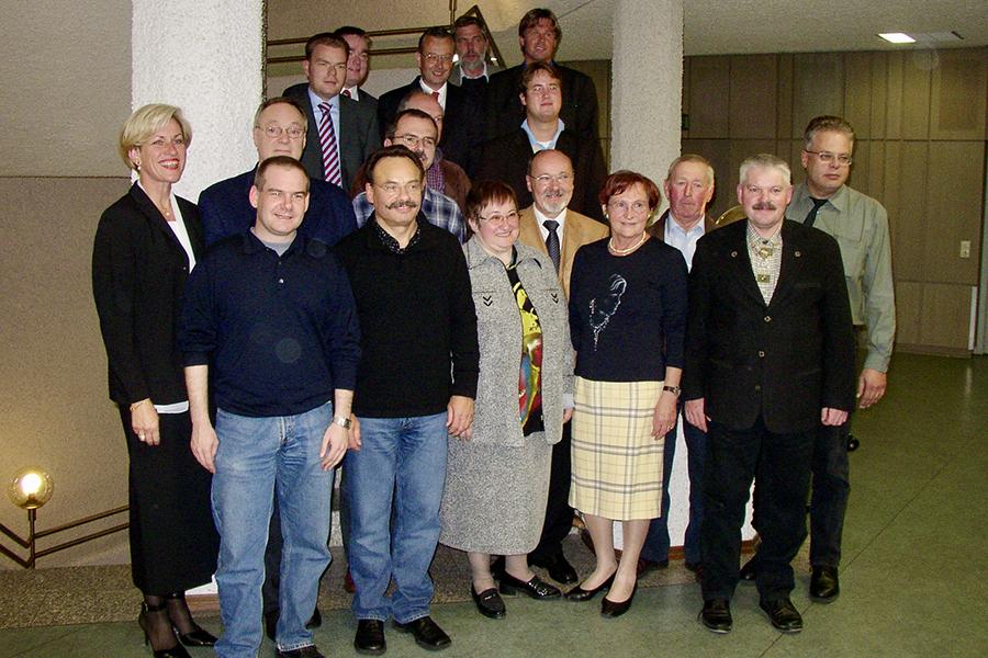 neuer Bezirksbeirat, 22. Oktober 2004, Foto GOEDE