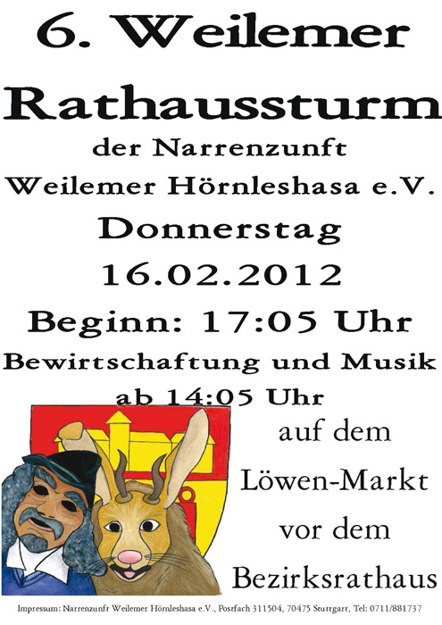 rathaussturm2012