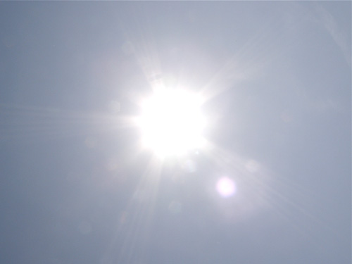sonnenschein-hitze