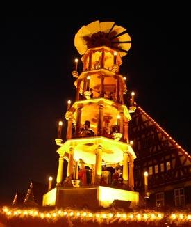 weinachtspyramide