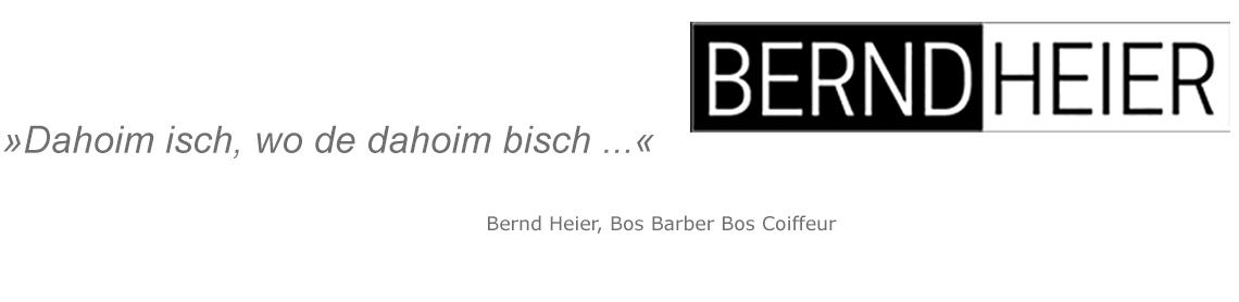 Slogan Bernd Heier