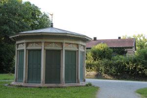 Pavillon im Fasanengarten