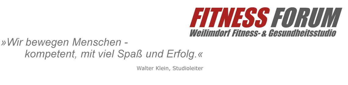 Fitness Forum Leitspruch
