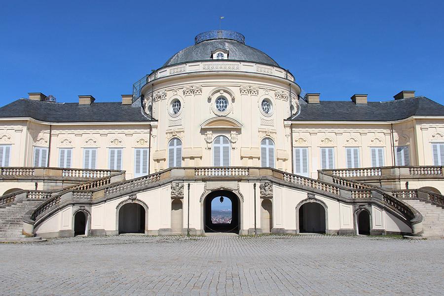 Schloss Solitude, © Foto Hans-Martin Goede