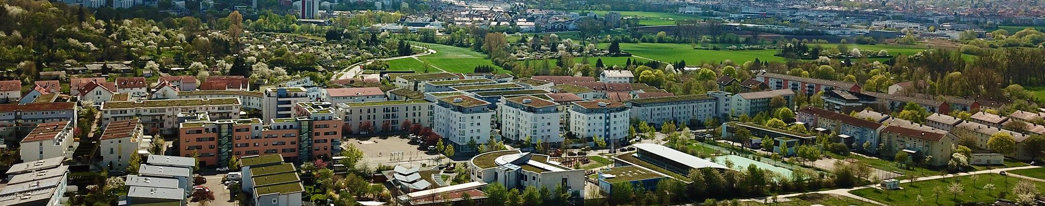 Luftbild Weilimdorf Hausen. Foto © Hans-Martin Goede