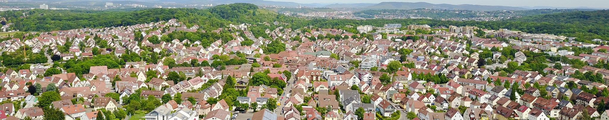 Luftbild Weilimdorf. Foto © Hans-Martin Goede