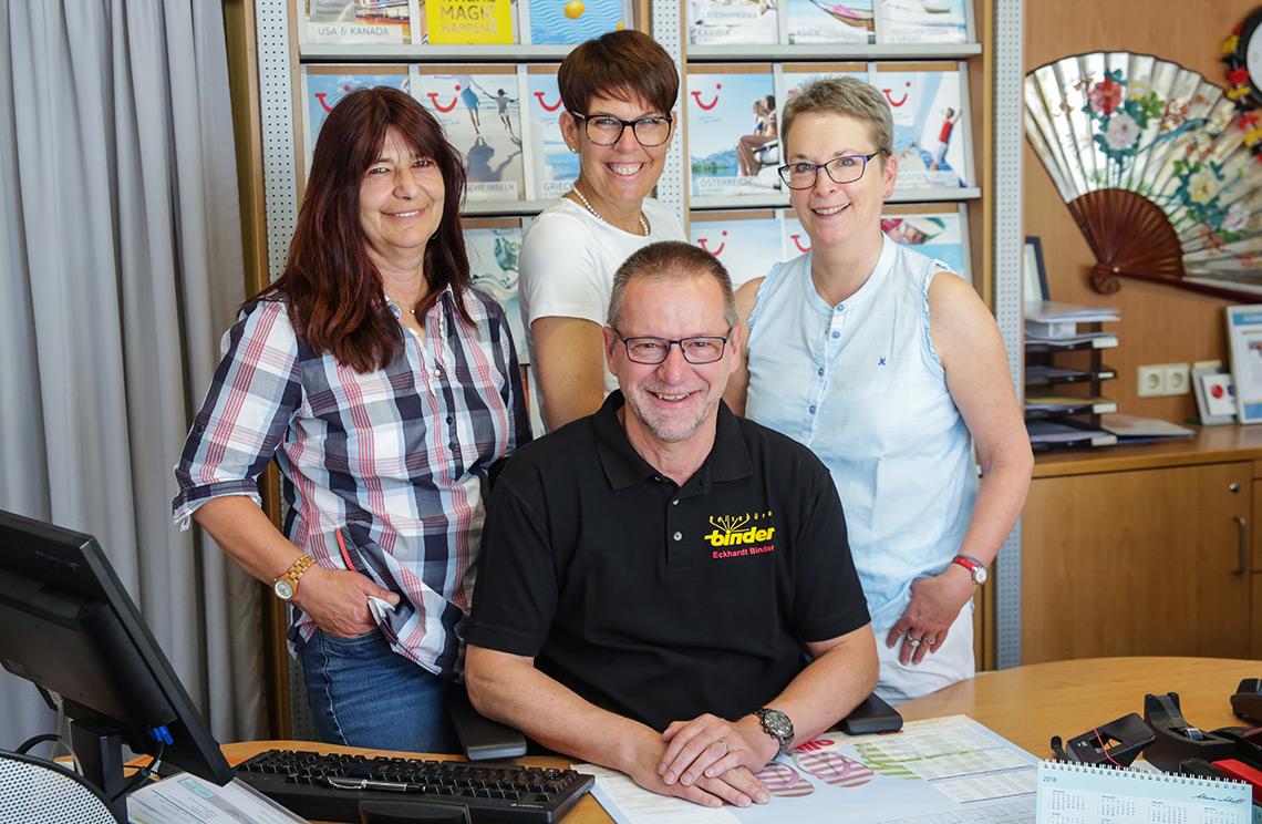 Reisebüro Binder Team