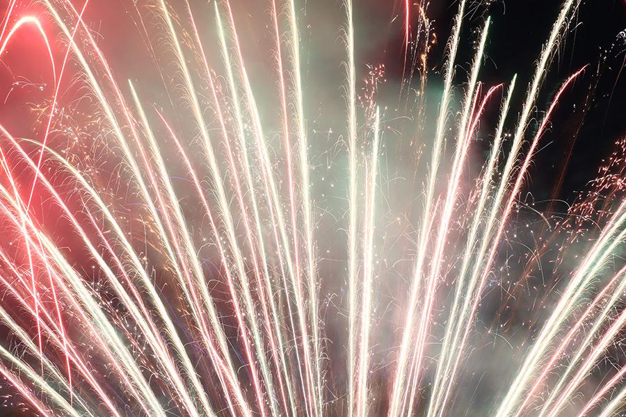 Silvester Feuerwerk. Foto: GOEDE