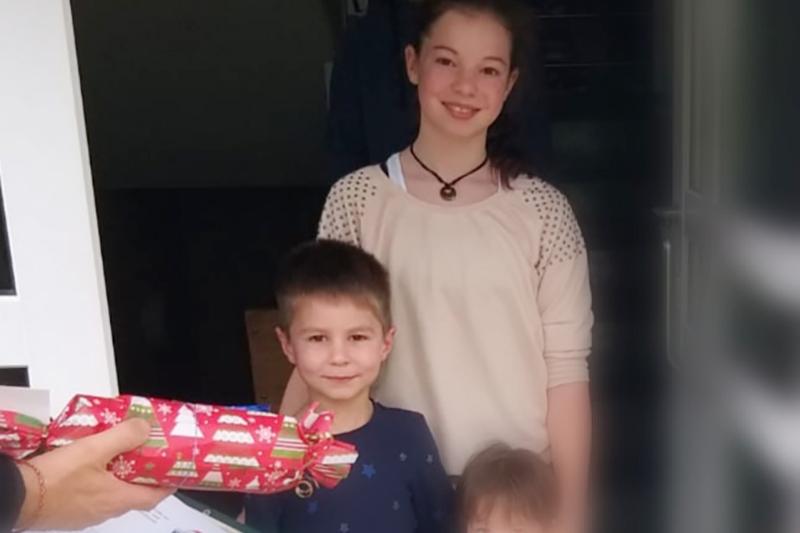 Ringer-Jugend zu Weihnachten beschenkt