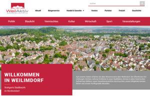 Relaunch Weilimdorf.de 2020