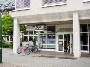Stadtteilbücherei Weilimdorf. Foto: Goede