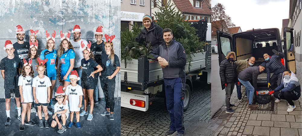 Abbau Weihnachtsdeko 2020: Die Fachgruppe von WeilAktiv dankt den fleißigen Helfern