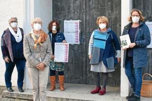 Bundesweite Aktion aus Anlass der Vollversammlung der Bischöfe: Thesenanschlag auch an der Tür von St. Theresia. Foto: Uwe Tommasi