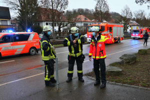 Gasausströmung in der Pforzheimer Straße, Foto: Andreas Rometsch