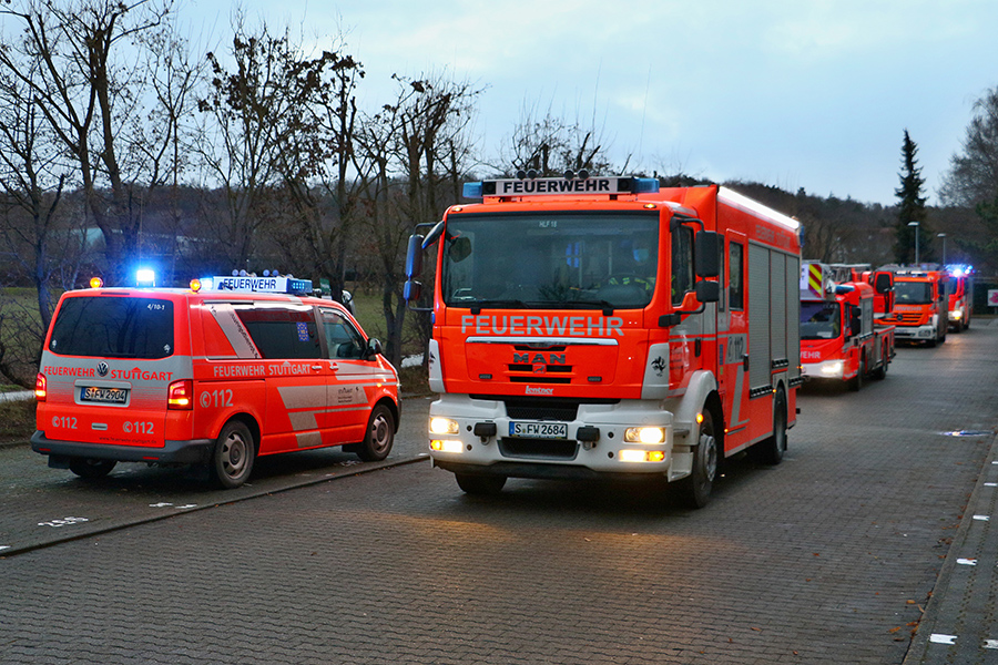 Ausgelöster Heimrauchmelder Engelbergstraße 40. Foto: Rometsch