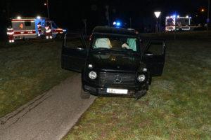 Unbekannte stehlen Auto und verursachen einen Unfall. Foto: Andreas Rometsch