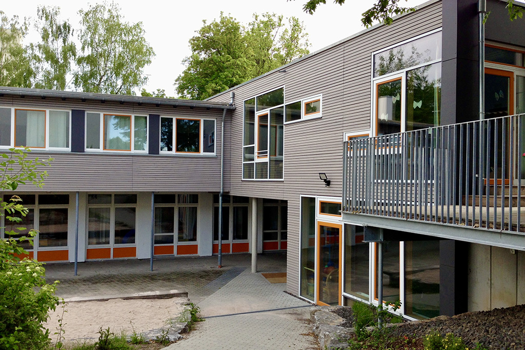 Kindergarten Salvator Giebel, Foto: Goede