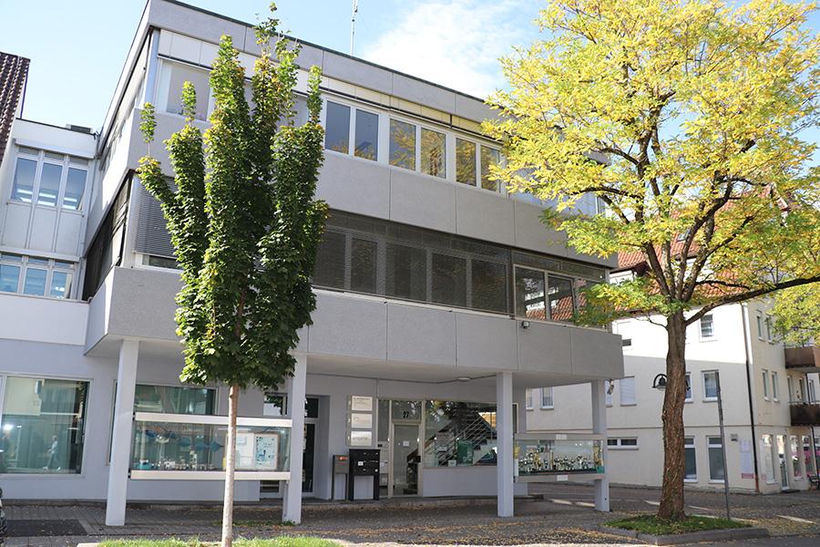 Polizeiposten Weilimdorf. Foto: Goede