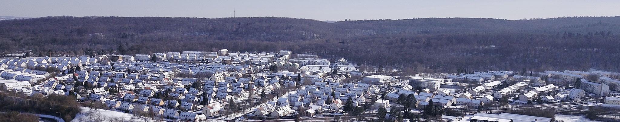 Weilimdorf im Februar 2021, Foto: © Hans-Martin GOEDE