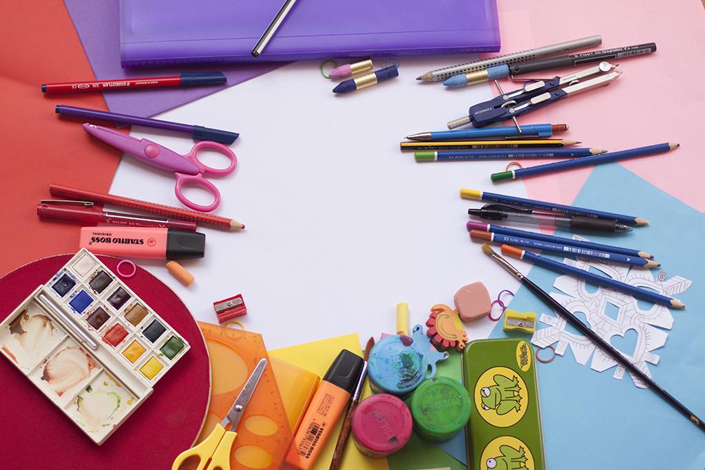 Themenbilder malen und Kinder