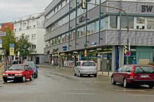 Kreuzung Solitudestraße/Pforzheimer Straße. Foto: Uwe Tommasi