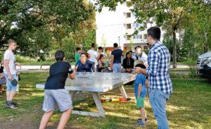 In Giebel gibte es bereits einen Treffpunkte für Jugendliche im öffentlichen Raum. Im Bürgerhaushalt werden weitere Standorte vorgeschlagen.