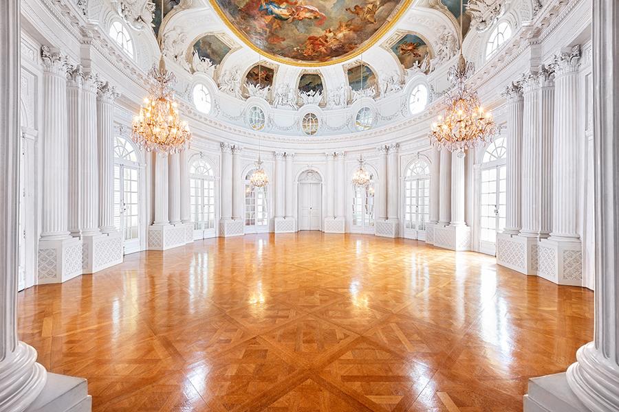 Schloss Solitude (innen), Weisser Saal, Foto ssg/guenther bayerl