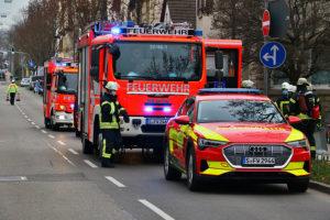 Brand in der Wiener Straße Feuerbach, Foto: Andreas Rometsch