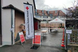 Corona-Schnelltestaktion für ein sicheres Ostern beim DRK Weilimdorf