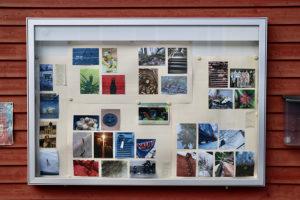 die Highlights der Jufa-FotoChallange gibt es im Schaukasten zu sehen