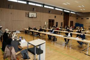 Sitzung des Bezirksbeirat Weilimdorf am 17.03.2021. Foto: Goede