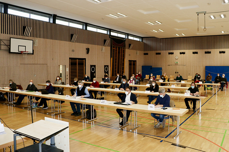 Sitzung des Bezirksbeirat Weilimdorf am 17. März 2021. Foto: Goede