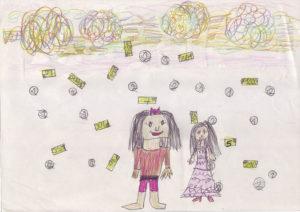NeSCHUH'ah – die Drachenfrau. Ein Musikbuch der Maria Montessori Grundschule Hausen