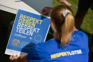 Motto der Respektlotsen, Foto Max Kovalenko, Lichtgut, Rechte LHS