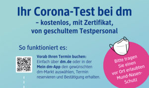 Corona Schnelltest dm Weilimdorf