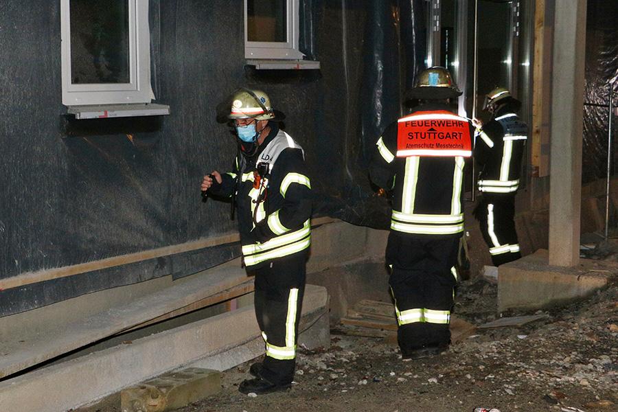 Gefahrstoffunfall am Molchweg, Foto: Andreas Rometsch