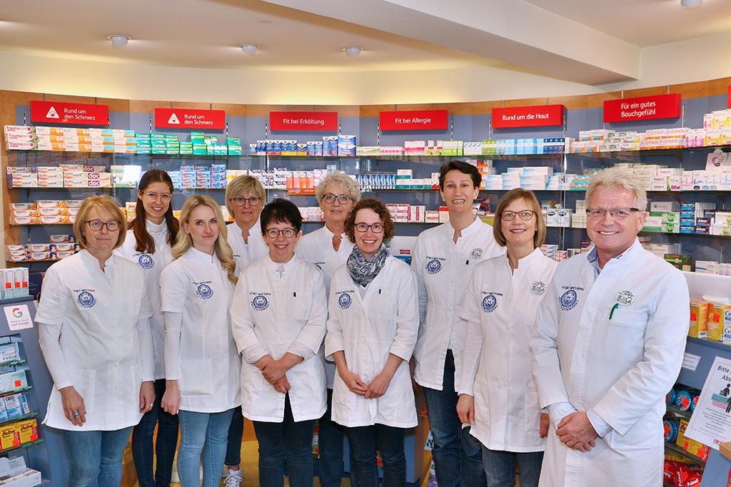 Team der Stadtapotheke Weilimdorf (2021)