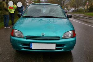 Auto contra Fußgängerin - 43-Jährige verletzt. Foto: Rometsch