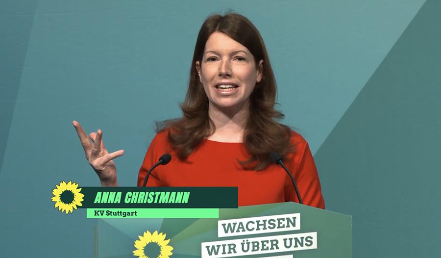 Anna Christmann Mitglied des Deutschen Bundestags für den Wahlkreis Stuttgart II