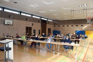 Sitzung des Bezirksbeirat Weilimdorf am 14.04.2021, Foto: Goede
