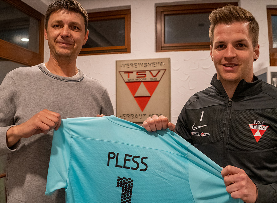 Philipp Pless verlängert beim TSV Weilimdorf. Foto: TSV Weilimdorf