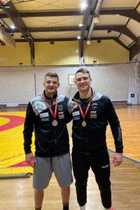 Lucas Lazogianis (links) gewinnt Adriatic Trophy