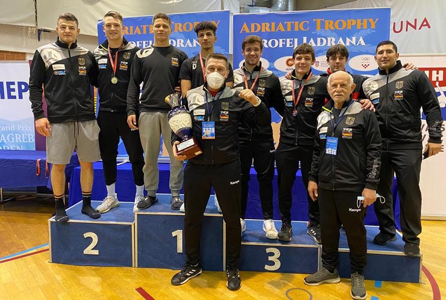 Lucas Lazogianis gewinnt Adriatic Trophy