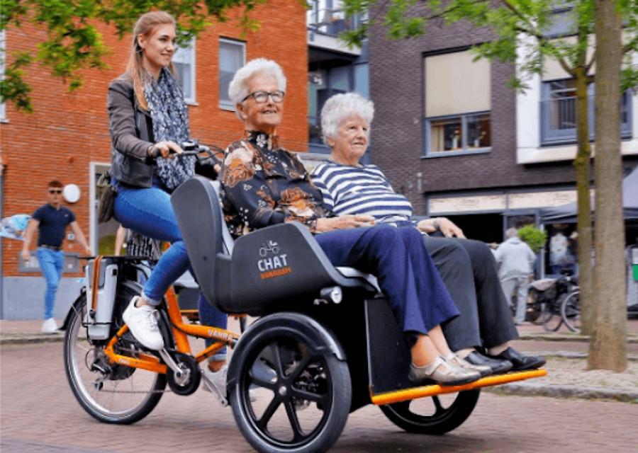 Ehrenamtliche Rikschafahrer gesucht. Bild © Van Raam