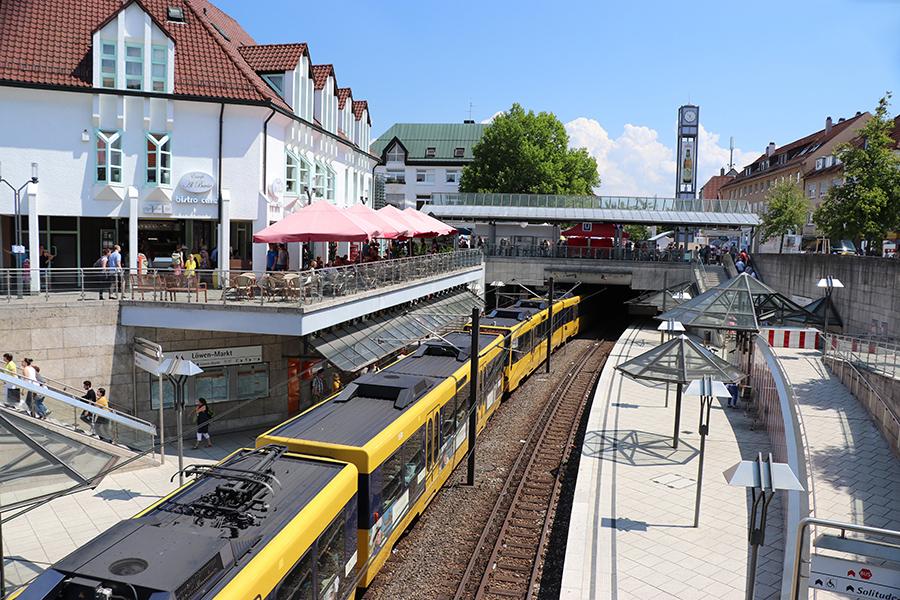 VVS / SSB Löwen-Markt Weilimdorf. Foto: GOEDE