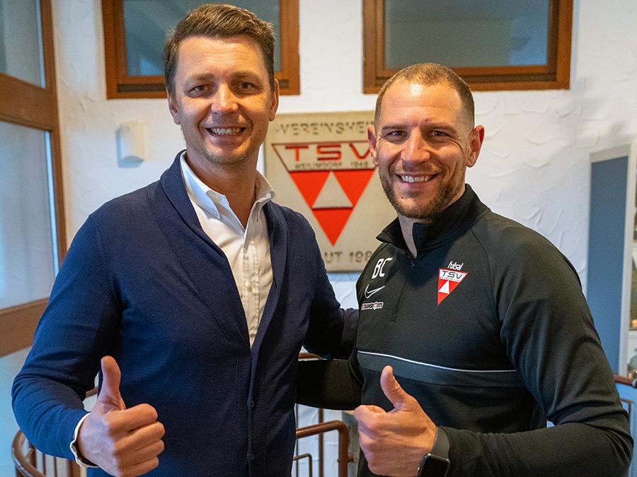 Stefano Federico verstärkt Futsal-Team. Foto: PRIVAT