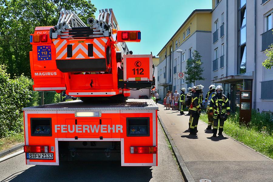 Schmorbrand in der Matthäusstraße, Foto: ROMETSCH