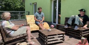 Gespräch Bündnis 90 /Grüne im Jugendhaus Weilimdorf