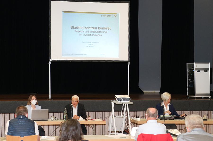 """""""Stadtteilzentren konkret"""" am 9.6.21 im BB Weilimdorf"""
